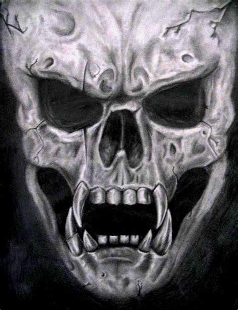 Evil Skull ghost matt gerrard