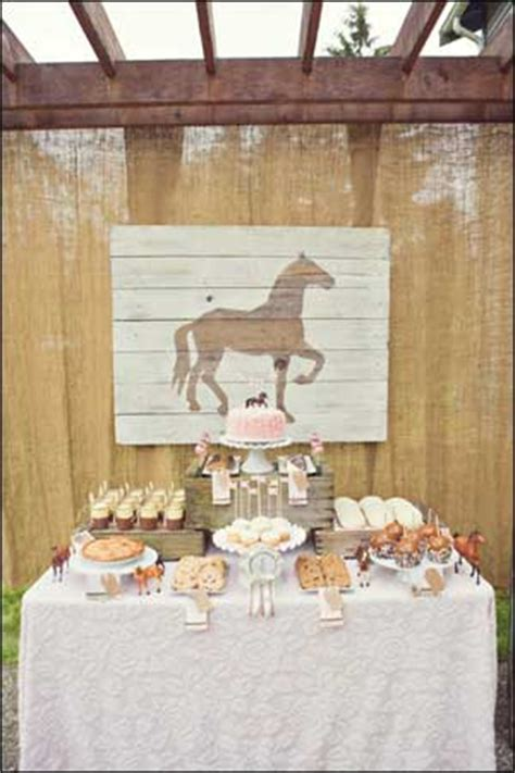 themes of the story a horse and two goats horse party ideas for a horse pony themed birthday party