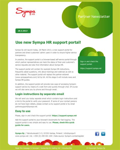 Internal And External Communications With Newsletters Lianamailer Communications Newsletter Template