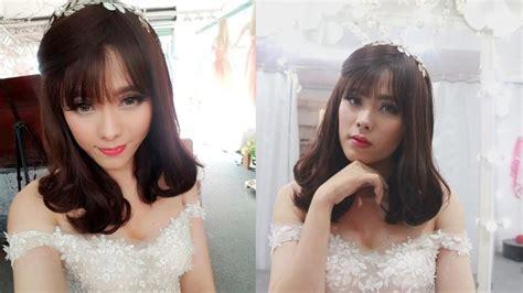salon makeover turns man into woman 54 best makeup transformation boytogirl images on