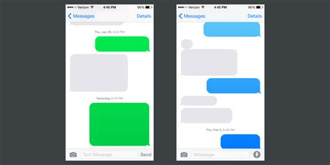 iphone text colors on colors gradients and chat bubbles eli schiff medium