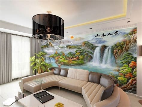 Living Room Wallpaper Or Paint Wallpaper Ideas For Home The Royale