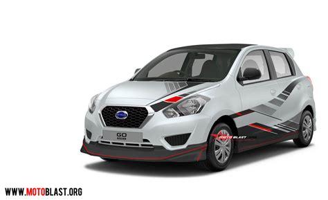Accu Mobil Datsun Go modifikasi striping mobil datsun go panca berbagai