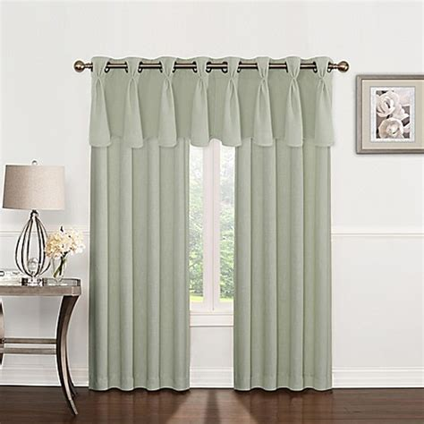 pinch pleat drapes bed bath and beyond riverstone pinch pleat grommet top window curtain panel