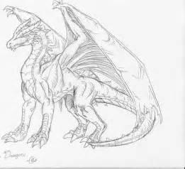 frost dragon sketch by direkliancliff on deviantart