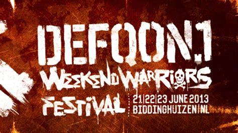 Weekend Warriors frontliner weekend warriors official defqon 1 2013