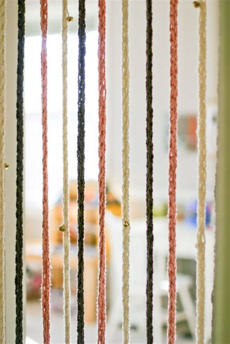 blanket door curtain 17 best images about finger knitting projects on pinterest
