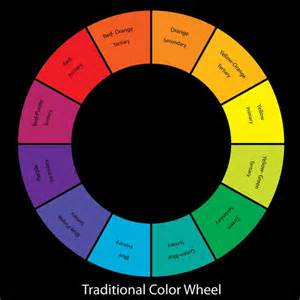 traditional color wheel color