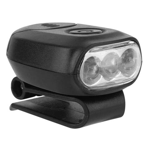 brightest clip on hat light bright 3 led head light l clip on cap hat torch for