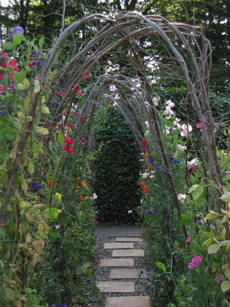 Garden Flower Arch Ewa In The Garden 15 Ideas Of Diy Pea Trellis