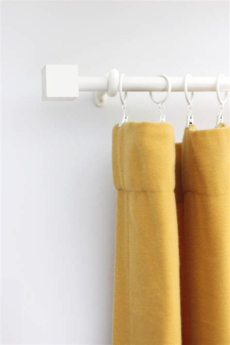 curtain rod diy budget curtain rod finial diy a beautiful mess