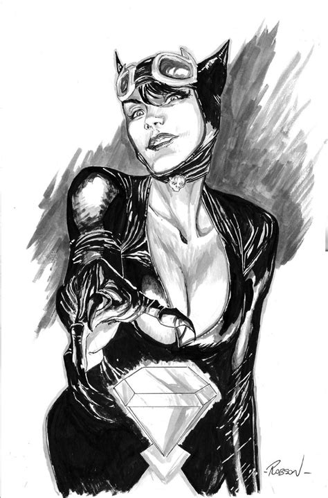 Catwoman by Robson Rocha | Villains and SuperHeroes