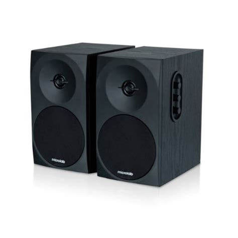 microlab b 70 affordable bookshelf stereo speakers 2 0