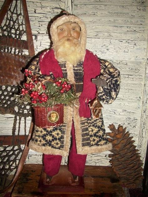 primitive santa primitive antiques and primitives on