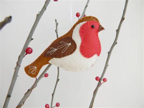 Bird Christmas Decoration Template Www Indiepedia Org Felt Robin Decoration Template