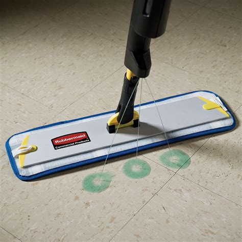 rubbermaid pulse mop floor cleaning system workplace