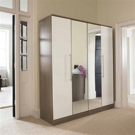 Mirror Doors For Closets Contemporary Hallway With Surprising Darkslategray Closet