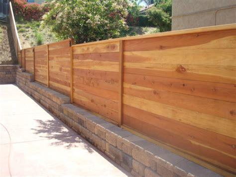 Horizontal Wood Fence Design Horizontal Fence Plans Gate Peiranos Fences Decorative Horizontal Fence Plans For Home Safety
