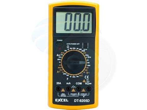 Multitester Digital professional digital multitester ammeter voltmeter