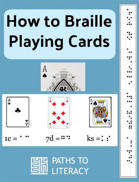 how to make braille cards how to braille cards paths to literacy
