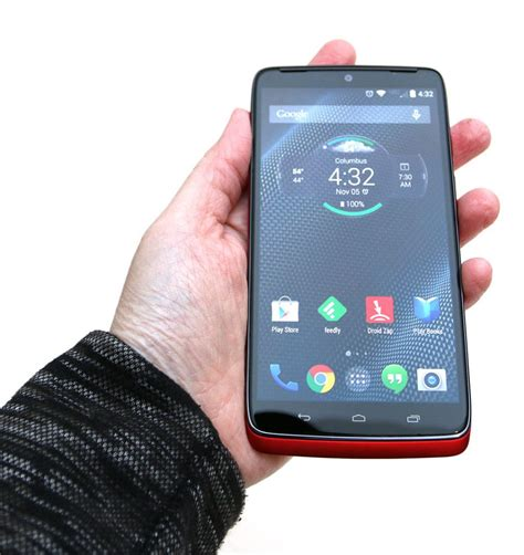 Hp Motorola Android Turbo motorola droid turbo android smartphone review drippler