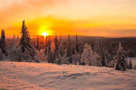 imagenes de otoño invierno paisajes laponia te espera por navidad gatos del pirineo