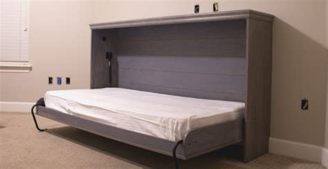 homemade murphy bed 15 diy murphy beds to save space in a small room home
