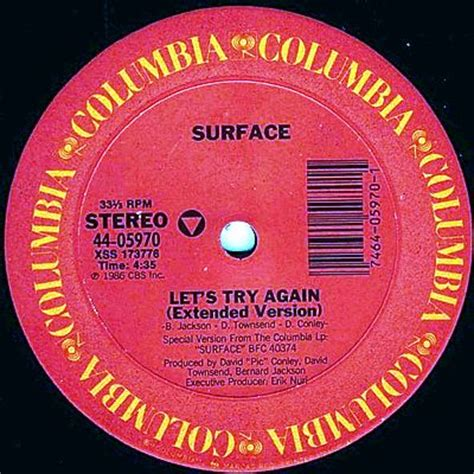 Columbia Search Surface Let S Try Again Columbia Records