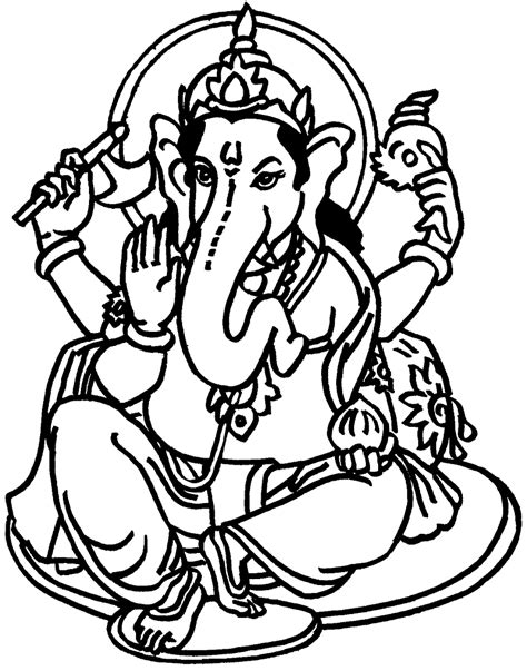 ganesh chaturthi coloring part 8
