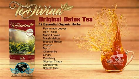 Holy Detox Tea Benefits by Tedivina Original Vida Divina