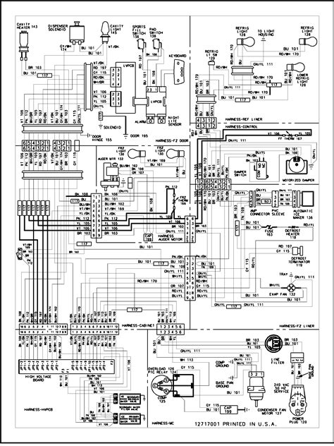 maytag refrigerator wiring diagram wiring information diagram parts list for model sk5352psk535062w maytag parts refrigerator