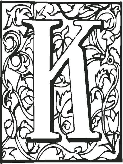 K Coloring Pages For Adults by Free Alphabet Phonics Coloring Pages From Sherriallen