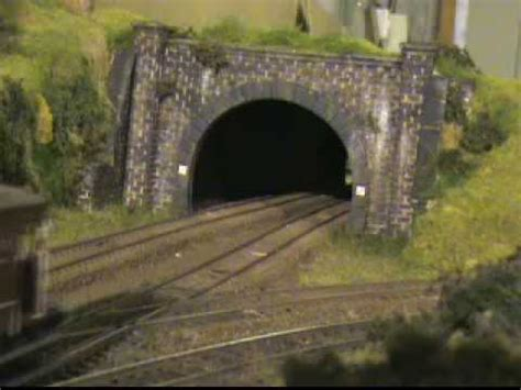 build  tunnel model railway extension project
