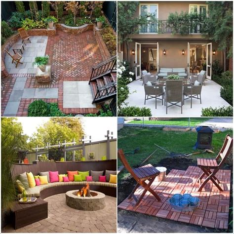 Backyard Tiles Ideas 15 Cool Backyard Flooring Ideas
