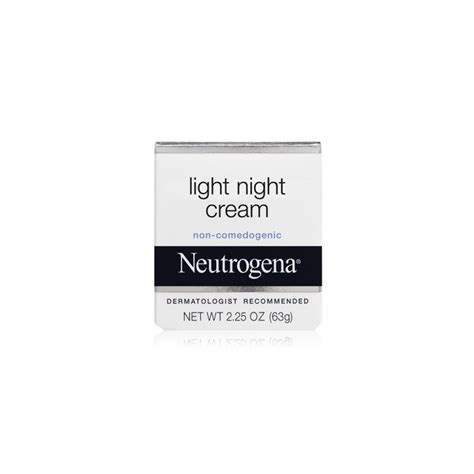 neutrogena light night cream neutrogena light night cream