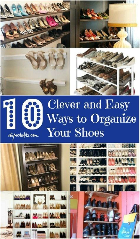 organize shoes 10 clever and easy ways to organize your shoes