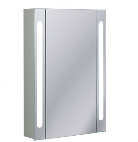 bathroom cabinets led 20 off bauhaus 550mm led aluminium bathroom cabinet cb5580al