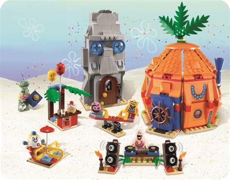 Lego Spongebob Nickelodeon 03051 Pineapple With Spinning win a spongebob squarepants lego set kidsumers
