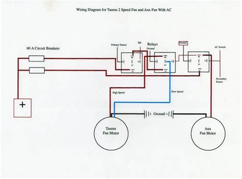 1995 taurus fan relay wiring diagram 36 wiring diagram