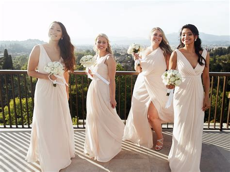 White Bridesmaid Dress by White Bridesmaid Dresses Are Trending Insider