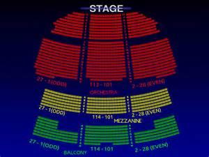 Seating Chart Winter Garden Theatre - broadway seating chart richard rodgers theatre seating map broadway scene