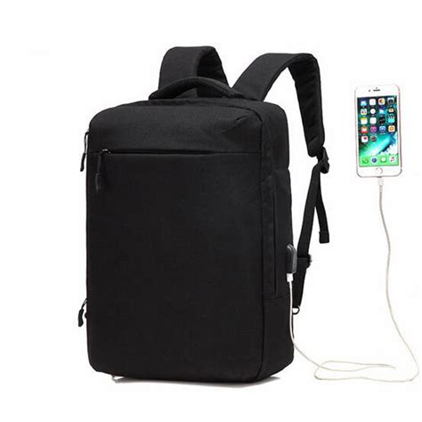 Top Power Waterproof 15 Inch Laptop Bag W Usb Tas Ransel Top Power Waterproof Large Capacity 15inch Laptop Bag