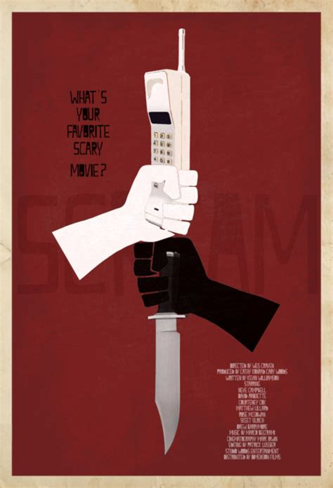 design is one movie horror movie minimalist posters by emmyd