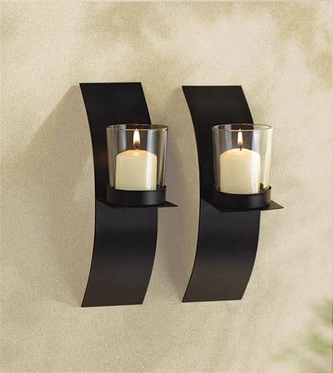 Zen Wall Sconce Wholesale Sleek Modern Style Wall Candle Sconces Pair Zen Wall Candle Holders