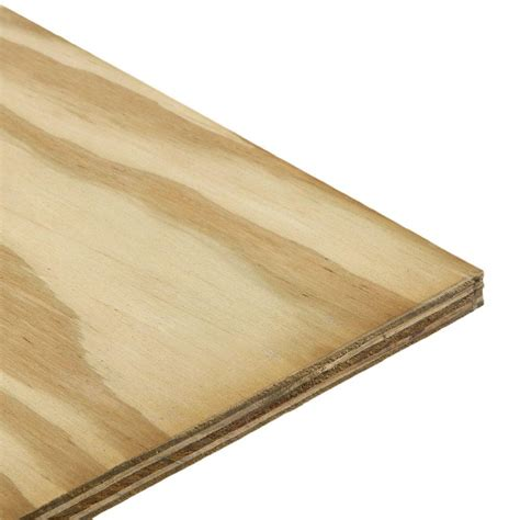 wood sheets home depot utility panel common 1 8 in x 4