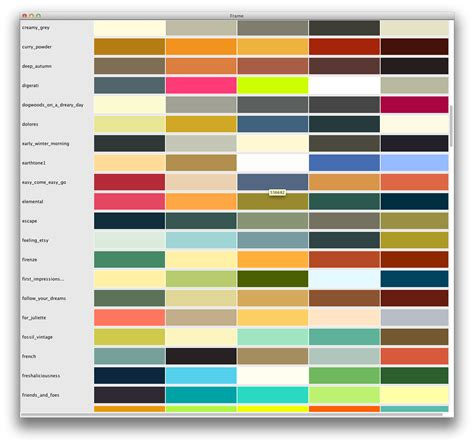 color themes kuler iterm2 themes with groovy scripting the kaptain on stuff