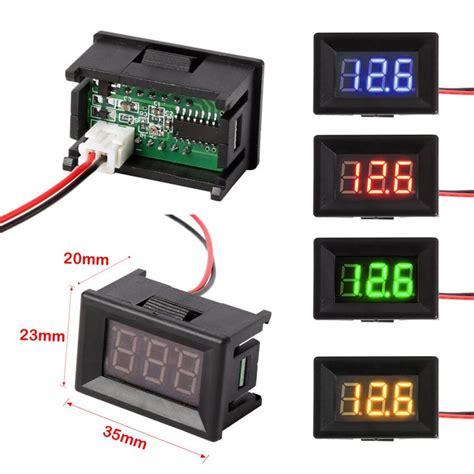 Mini Digital Voltmeter Voltage mini digital voltmeter dc digital voltmeter voltage panel