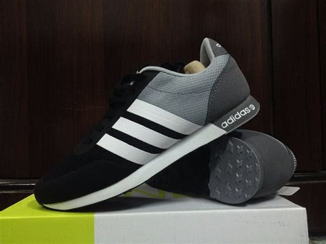 adidas original tangerang adidas neo v racer grey
