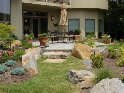ideas garden ideas and outdoor living backyard landscape patio landscaping ideas hgtv