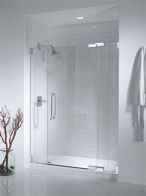 Glass Bathroom Doors For Shower How To Clean Water Spots Glass Shower Doors Decosee